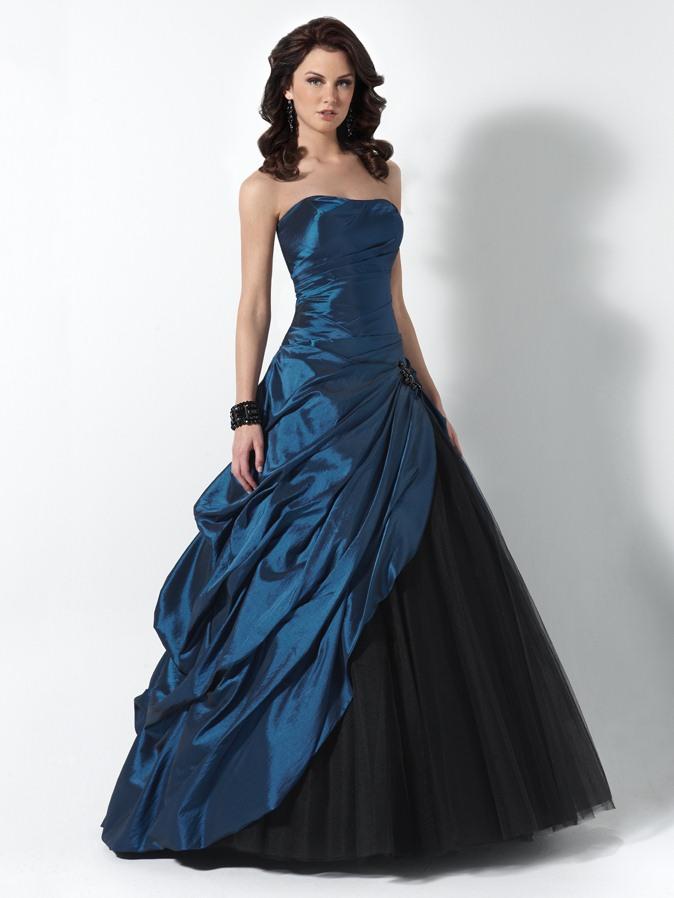 Длинные платья корсеты