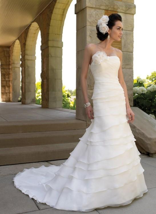 A-linje brudklänning kommer till till balklänning Online