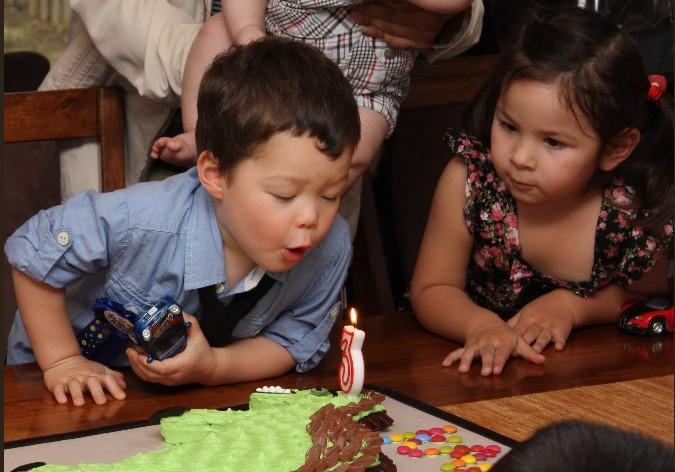 kaden third birthday party