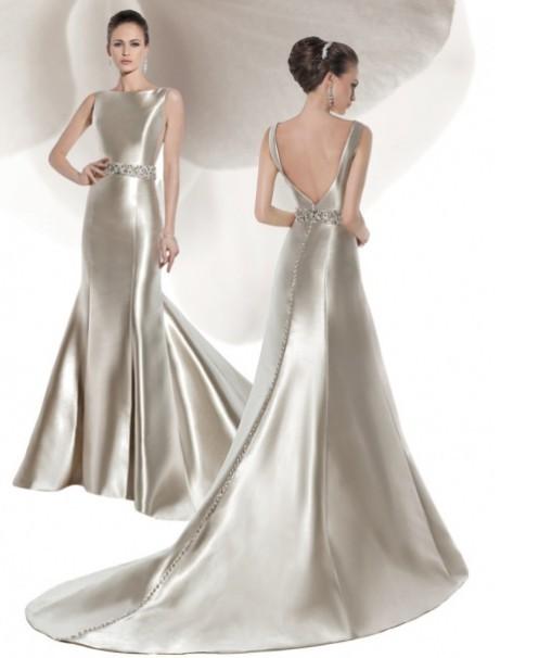Bröllopsklänningar, våren 2014 B009823